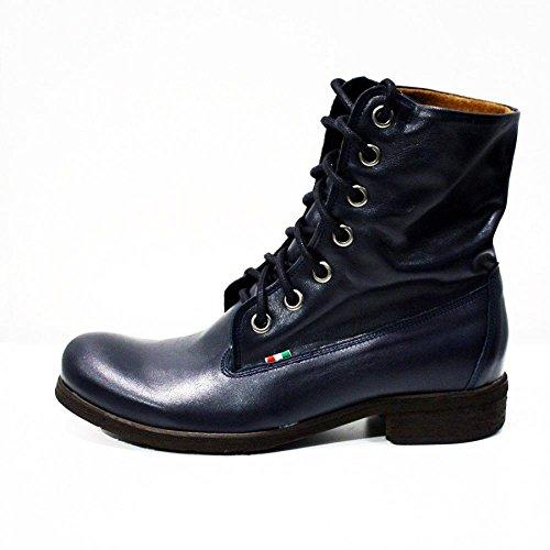 Modello Gabriele - Handmade Colorful italiennes en cuir Shoes Chaussures Casual Formal Unique Vintage premium Bottes lacŽes Hommes Hauts