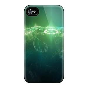 AnnetteL Iphone 4/4s Hybrid pc Case Cover Silicon Bumper Earth Fantasy D