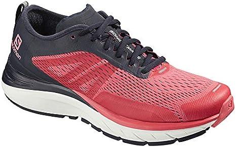SALOMON Sonic RA MAX 2 W Zapatos Marcha Deportiva Mujer Talla UK 5.5, Dubarry/Navy Blazer/White - Rojo, 38 2/3: Amazon.es: Deportes y aire libre