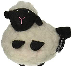"Fuzzy Sheep Tape Measure - 60"" White"