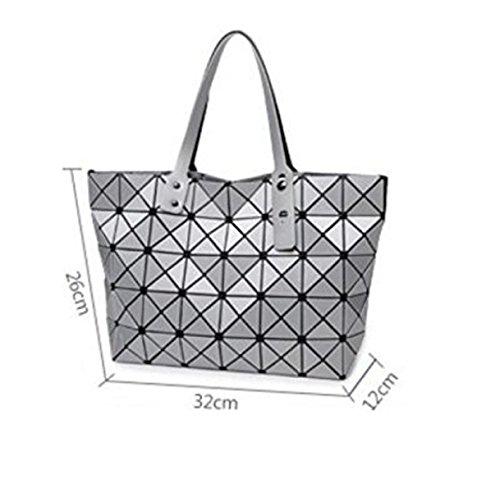 Silver àépaulettes Loisirs Géométrique De Sacs Main Sacs à Black Sacs Femmes Diamant En De Forme Bandoulière Pour Sac à Dames GSHGA qUHTwIxpxv