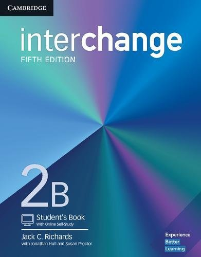 Interchange Level 2B Student's Book with Online Self-Study