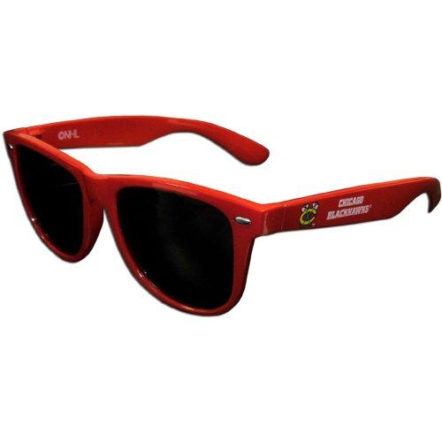 Blackhawks Chicago Glass - Siskiyou NHL Chicago Blackhawks Beachfarer Sunglasses