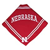 Collegiate Nebraska Cornhuskers Pet Bandana, Medium/Large - Dog Bandana must-have for Birthdays, Parties, Sports Games etc..