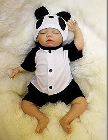HOOMAI Billig Reborn Babys 50 cm lebensecht Junge silikon