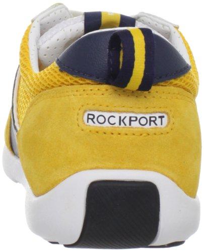 Rockport Mens Park Ultra Sport Baskets Jaune / Blanc