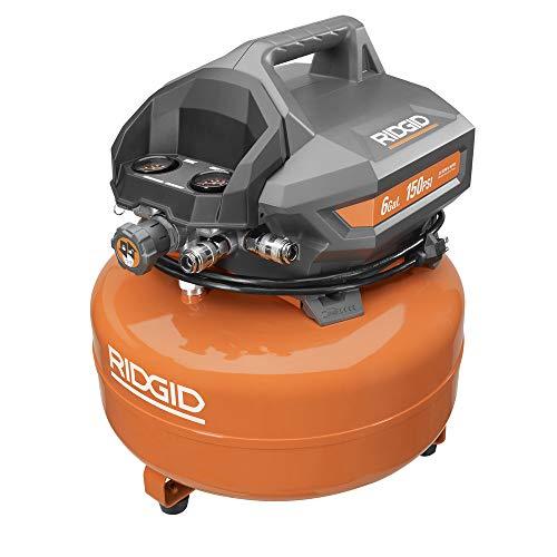 Ridgid Zrof60150ha 6 Gal Portable Electric Pancake Compressor Renewed
