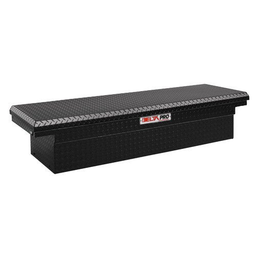 (Jobox PAC1580002 Black Aluminum Single Lid Fullsize Crossover Truck)