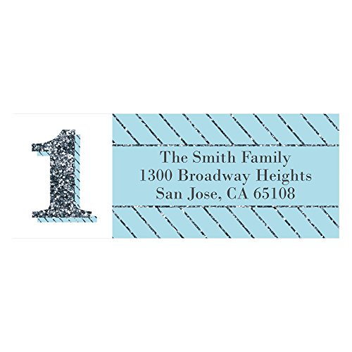 1st Birthday Address Labels - 1