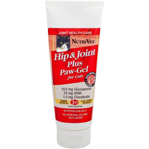 Nutri-Vet Hip and Joint Paw-Gel for Cats, 3-Ounce, My Pet Supplies