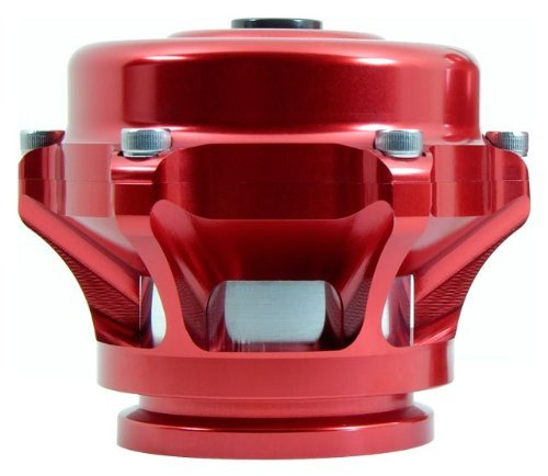 TiAL Q Blow Off Valve - 10 psi (unpainted) spring, Red Body, AL Flange ()