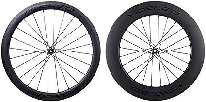 25mm Wide 50mm Depth Clincher Tubular 700C Wheelset Disc Brake Carbon Bike Wheel