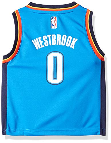 Outerstuff NBA Oklahoma City Thunder Children Boys Replica Road Player Jersey, 4T, Bright Royal