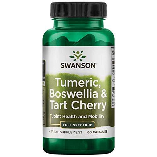 Swanson Full Spectrum Turmeric Boswellia & Tart Cherry 60 Capsules For Sale