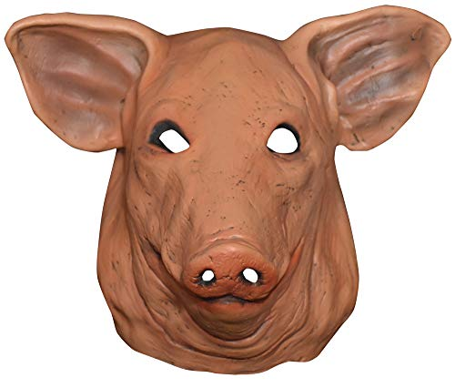 - Adult Don Post Pig Funny Theme Party Halloween Costume Animal Mask