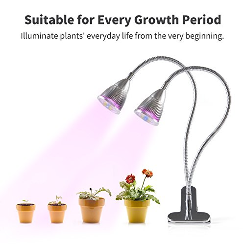 UPGRADED-2018-Dual-Head-LED-Plant-Grow-Light10W-360-Flexible-Indoor-Grow-Light-Plant-Grow-Lamp-with-Controllable-Luminious-Level-for-Indoor-Plants-Gardening-Greenhouse-Office
