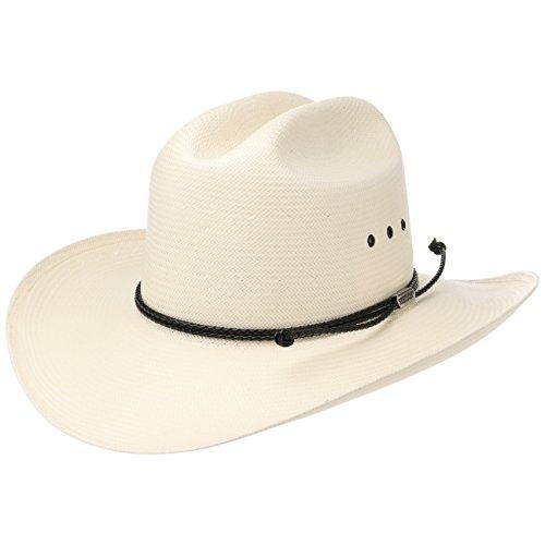Banda Blanco Piel Rodeo Paja Stetson Verano Usa Hombre Oeste 10x verano Sombrero Primavera Made Comfort In De Crema Con Rgg6wOqT