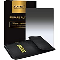 Zomei Graduated Grey Neutral Density ND4 Professional Photography Filter Square Z-PRO Series Filter for Cokin Z Zomei Hitech 4X6 Holder 150*100 mm