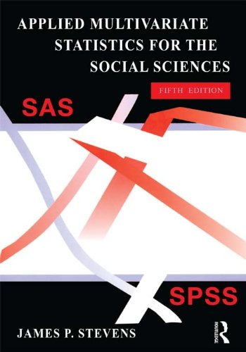 Download Applied Multivariate Statistics for the Social Sciences, Fifth Edition Pdf