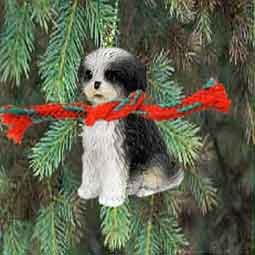 Amazoncom Shih Tzu Puppy Cut Miniature Dog Ornament Black