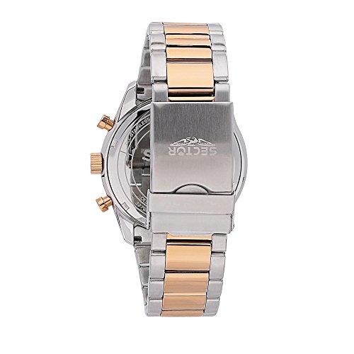 SECTOR NO LIMITS herr chronograph Solar klocka med rostfritt stål armband R3273613001