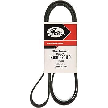 ACDelco K080816HD Specialty Heavy Duty V-Ribbed Serpentine Belt