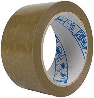 Geko Pack cinta estándar 66 m x 50 mm del paquete del paquete de cinta adhesiva marrón: Amazon.es: Bricolaje y herramientas