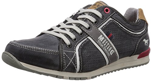 Mustang 4091-301-200 Hommes Baskets Gris (200 Pierre)