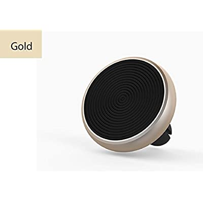 Magnetic Air Vent Car Phone Mount, Universal Phone Holder, Phone Stand with Strong Magnet Phone Holder for iPhone X/8/8Plus/7/7Plus/6s, Huawei, Android Smartphone-(Dolphin Gold