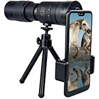 Super Monocular Telescope 4K 10-300X40mm Zoom Monocular Telescope 30 Times Amplification for Beach Travel Outdoor…