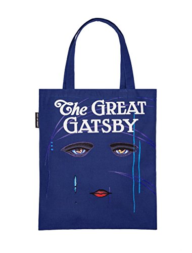 - Out of Print The Great Gatsby Tote Bag, 15 X 17 Inches