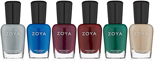 ZOYA Urban Grunge One Coat Creams Sampler Nail Polish