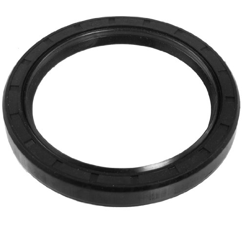 uxcell Black Nitrile Rubber Dual Lips Oil Shaft Seal TC 75mm x 95mm x 12mm (75mm Seal)
