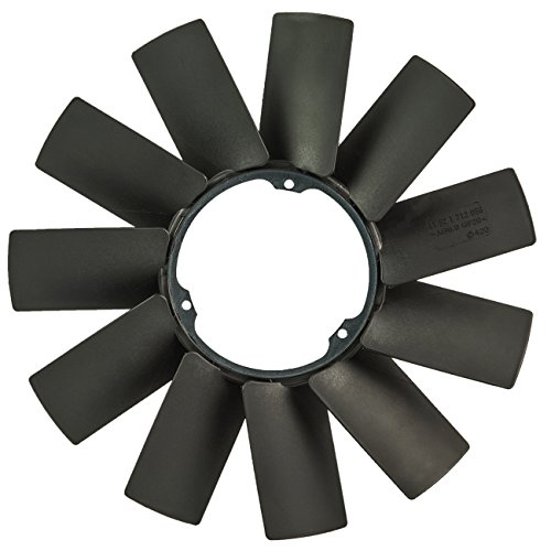 TOPAZ 11521712058 Radiator Cooling Fan Blade for BMW E39 E46 E38 E53 ()