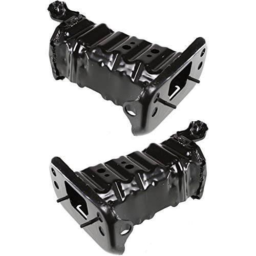 Bumper Bracket Set of 2 Right and Left Side Front Plastic Compatible with Toyota Yaris 07-17 Reinforcement Bracket Support - Bumper Toyota Yaris Bracket