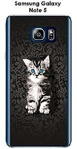 Carcasa Samsung Galaxy Note 5Design felino el gatito