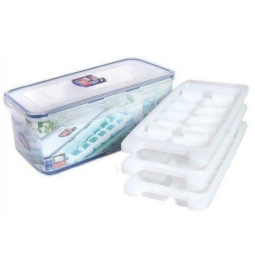 Lock & Lock HPP250S Premium Eiswürfelbereiter Set, 4-teilig, Inhalt 3.4L
