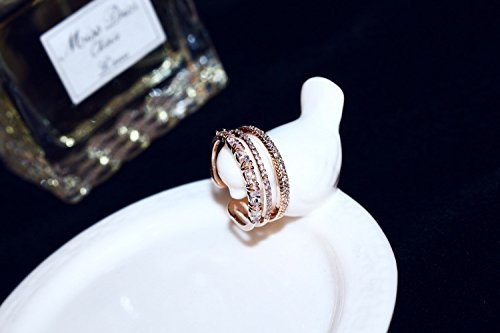 Generic Japan and South Korea new fashion trend in Europe and America exquisite Korean women girls lady couple rings on the ring opening index finger tail ring anti-allergy