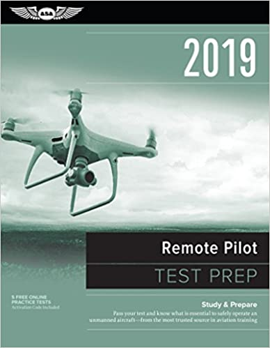 sUAS UAS UAV Drone remote Pilot test Prep 2019 via amazon