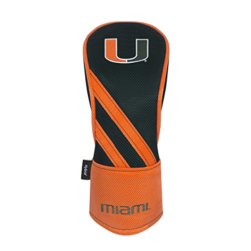 Miami Hurricanes Driver Headcover (Team Effort Miami Hurricanes Hybrid Headcover)