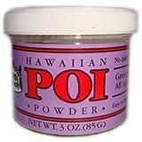 Hawaiian Poi Powder 3oz Jar - Made in Hawaii From Hawaian Taro