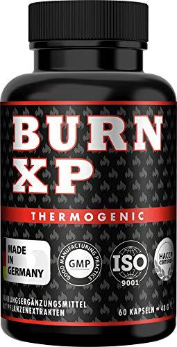 BURN XP – Thermogener Burner, von führenden Body-Experten entwickelt, mit Carnitin + Grüner Tee Extrakt…