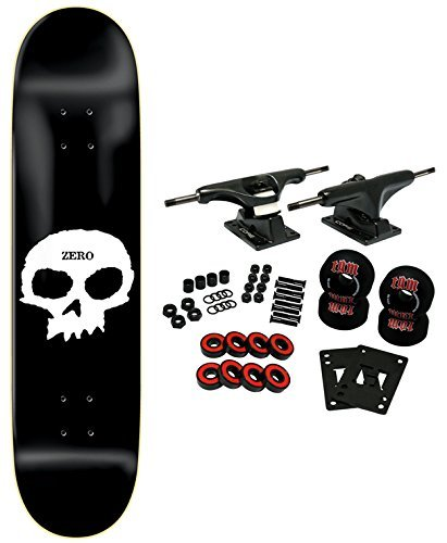 Zero Skateboard Complete Single Skull 8.0