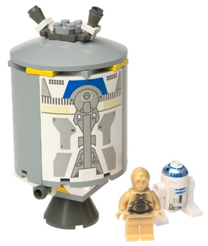 Amazon Lego Star Wars R2 D2 C 3po Escape Pod Toys Games