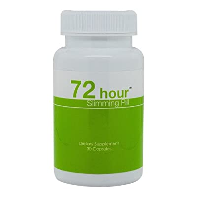 72 Hour Slimming Pill - Top Weight Loss Pill for Safe and Fast Detox Diet , In Stock At Us, Faster Shipping !!