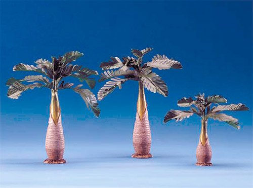 - 5 Inch Scale Palm Tree Set of 3