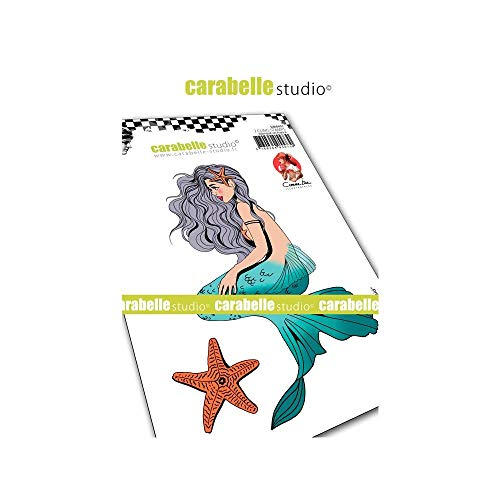 (Carabelle Studio SA60451 Mermaid Cling Stamp A6 by C Comme Line)