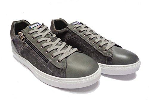 Uomo camoscio Jeans 44 Nero pietra In Sneakers Pelle 270 Col Giardini Da Scarpe Num Iv8Ia