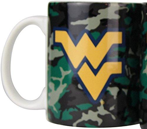 West Virginia Mountaineers Camouflage 11oz Coffee Mug