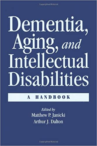 Book Dementia and Aging Adults with Intellectual Disabilities: A Handbook